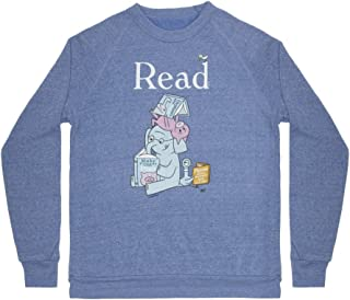 Unisex/Men's Literary and Book-Themed Fleece Sweatshirt