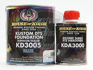 House Kolor KD3005 Blue DTS Epoxy Surfacer Sealer 1Qt Kit