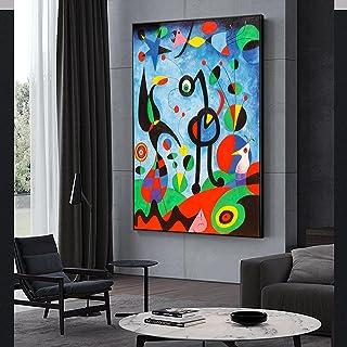 Impressions sur toile Art mural Peintures abstraites Peinture célèbre Le jardin 1925 Par Joan Miro Pictures Cuadros pour l...