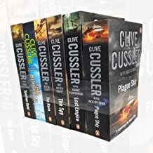 Spartan Gold, Lost Empire, The Kingdom, The Spy, The Race and Plague Ship 6 Books Collection Set By Clive Cussler