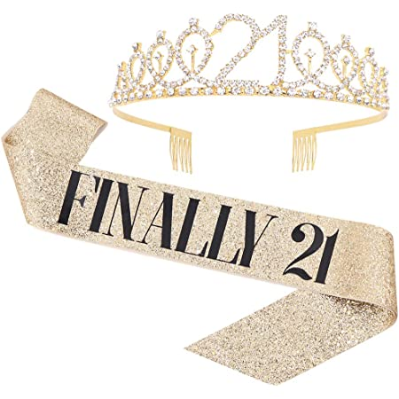 4 Assorted Colors Juvale 24-Pack Happy Birthday Glitter Tiara Headbands