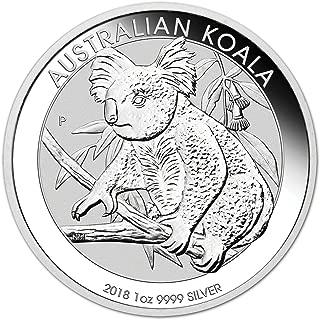 2018 AU Australia Silver Koala (1 oz) $1 Brilliant Uncirculated Perth Mint