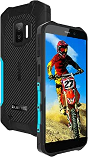 OUKITEL WP12 スマートフォン 本体 防水防塵耐衝撃 SIMフリースマホ本体Android 11、32GB+4GB(256 GB拡張可能)、4000mAhバッテリー、5.5インチ、デュアル4G SIM、IP68防水、13MPカメラ、N...