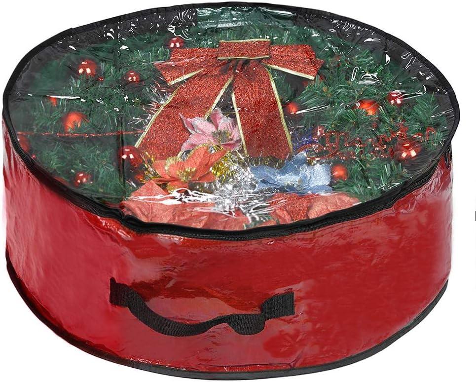 ProPik Christmas Wreath Storage Bag Contai Holiday 30