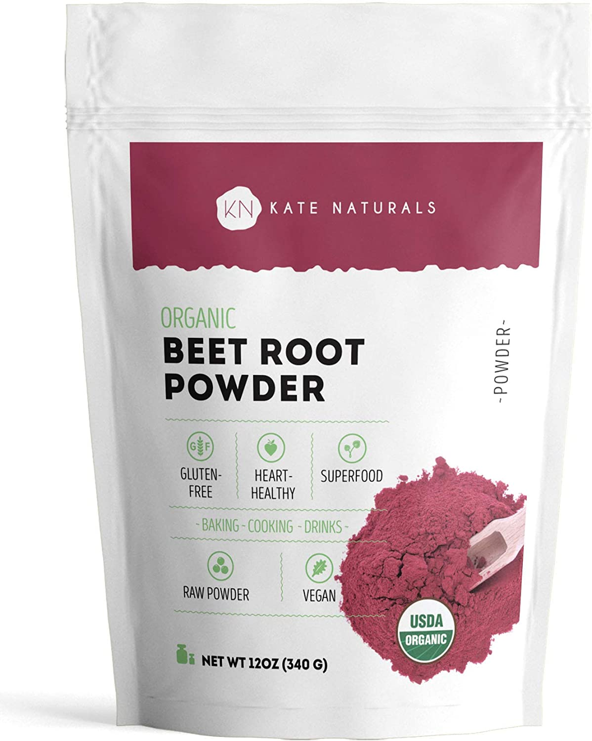 Organic Beet Root Powder Sale Portland Mall 12oz Smoothies and Baking for Cooki