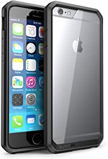 SUPCASE [Unicorn Beetle Series] Case Designed for Apple iPhone 6 4.7 inch, Premium Hybrid Protective Bumper Case Cover for iPhone 6 (Not Fit iPhone 6 5.5 inch) (Black)