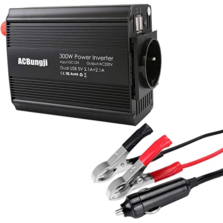 Acbungji Spannungswandler Wechselrichter Auto Wohnwagen Elektronik