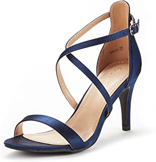 Best navy blue satin heels Reviews
