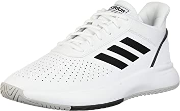 adidas Courtsmash White/Black/Gry Court Shoes (F36718)