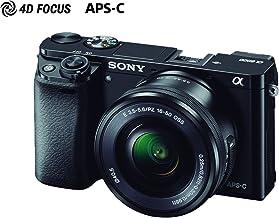 Sony ILCE-6000L Cámara Alpha Mirrorless con Montura E APS-C CMOS con 24.3mp, Incluye lente SELP16-50mm
