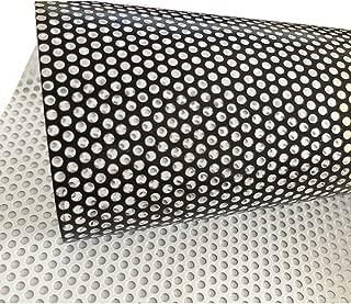 One-way perforado vinilo Privacidad Película para ventana adhesivo rollo de papel cristal (137cmx30cm