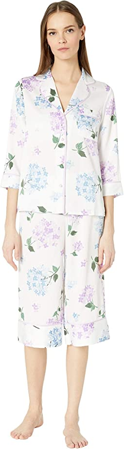 Charmeuse Cropped Pajama Set