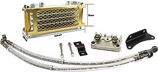 Engine Oil Cooler Radiator Adaptor Modification System for Monkey Motorcycle ATV Pit Dirt Bike