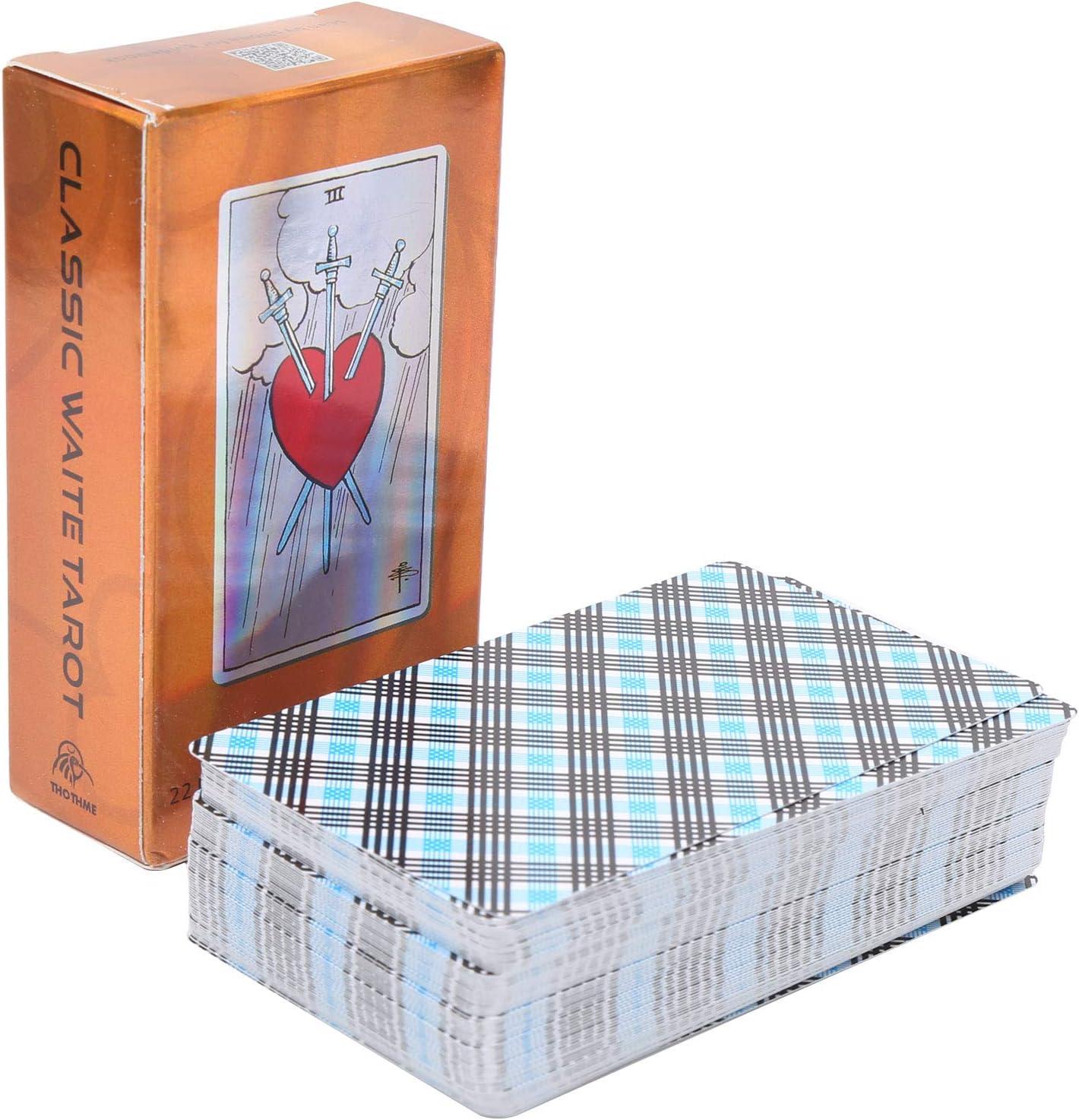 Junlucki Tarot Cards Deck Bright Card Outlet SALE Finally popular brand Divination Color Fate
