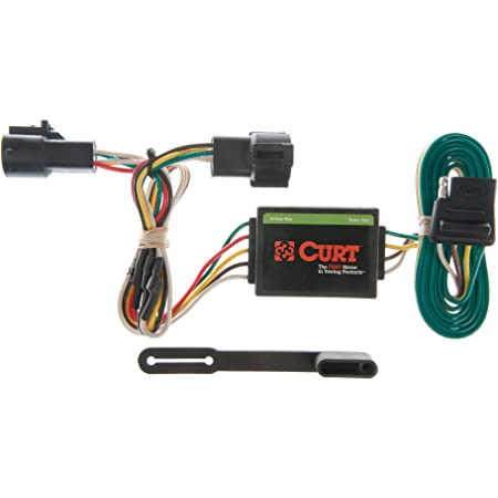 Amazon Com Curt 55325 Vehicle Side Custom 4 Pin Trailer Wiring Harness For Select Ford Ranger Mazda B2300 B3000 B4000 Automotive