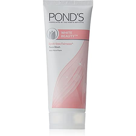 Pond's White Beauty Daily Spotless Fairness Face Wash with Micro Foam, 100g