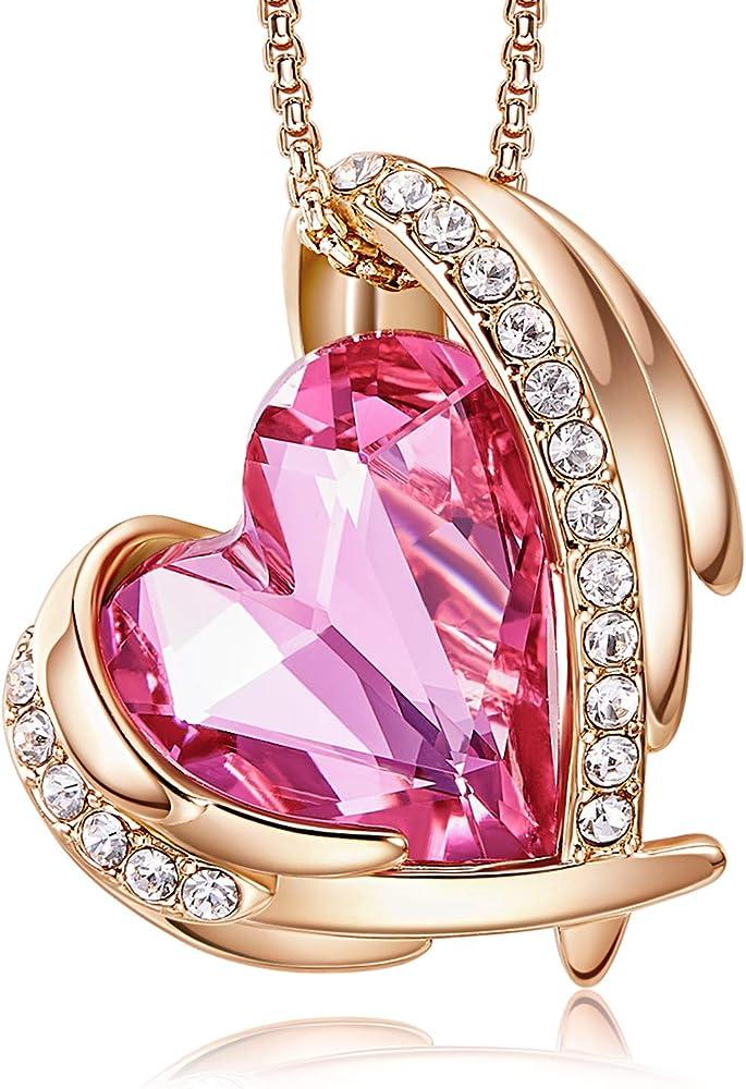 Cde collana con ciondolo a forma di cuore CDEN1751-S-ES