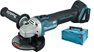 Makita DGA504ZJ Cordless Angle Grinder, Blue