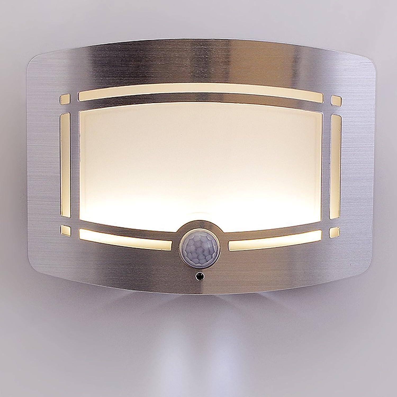 QAZSE Cuboid Krper-Sensing Nachtlicht Schlafzimmer Korridor Wandleuchte 150,5  110  39 (Mm)