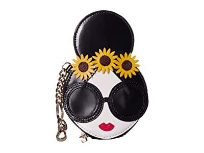 Alice + Olivia Evy Stace Face w/ Coin Pouch Key Charm (Multi) Handbags