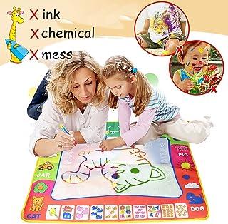 VicJoye Aqua Doodle - Kids drawing mat, aqua magic color paint and writing toy, bring magic pens, educational toys, trave...