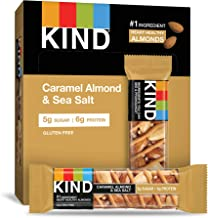 product image for KIND Bars, Caramel Almond & Sea Salt, Gluten Free, Low Sugar, 1.4oz, 12 Count