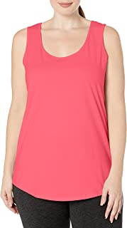 Women's Plus-Size Shirt-Tail Tank Top