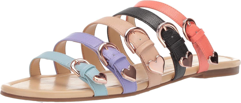 Katy Perry Womens The Nikki Flat Sandal