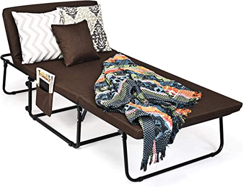 """high quality Giantex wholesale Folding Ottoman Sleeper Bed, 3 in 1 Multi-Function Convertible Chair Bed with 6 Position Adjustable, 550lbs Max Weight Capacity, Guest Bed for Small Room Apartment, 78"""" x discount 35"""" online"""