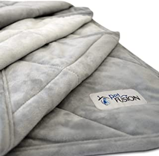 PetFusion Premium Plus Quilted Pet Blanket Blanket, Multiple Sizes for Dogs & Cats. [Light Inner Fill 70GSM, Reversible Gr...