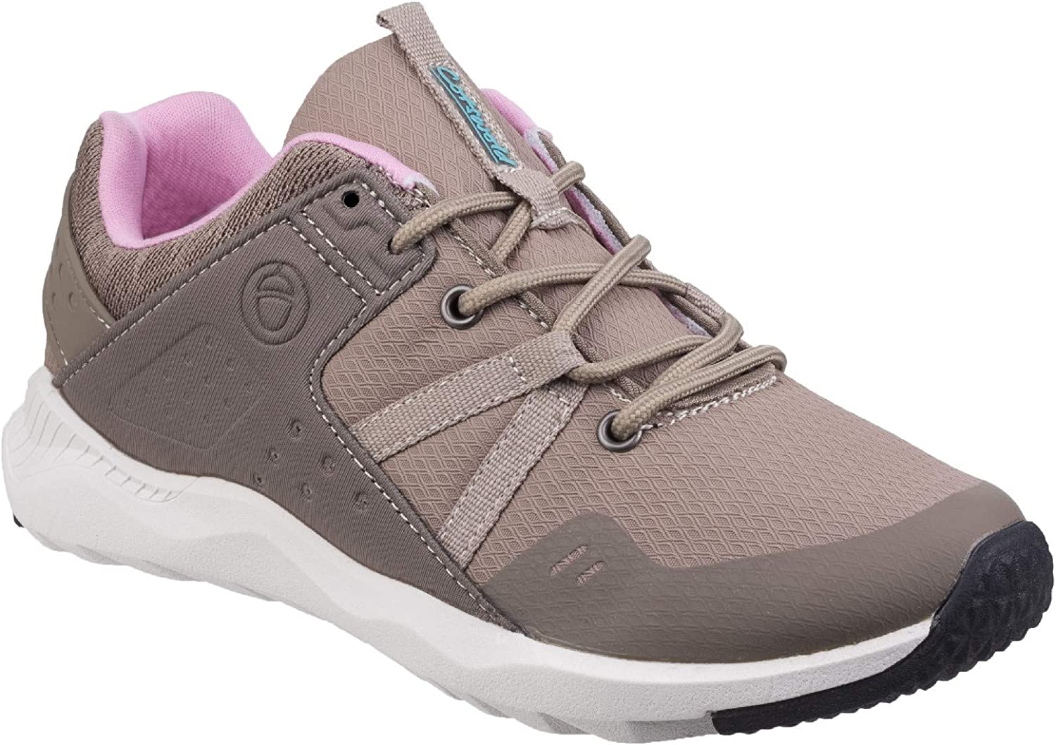 Cotswold Womens Luckington Casual shoes Taupe Pink White Size UK 9 EU 42