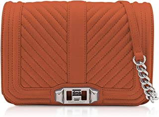 Luxury Fashion | Rebecca Minkoff Womens HH18ENUX45220 Orange Shoulder Bag | Season Permanent