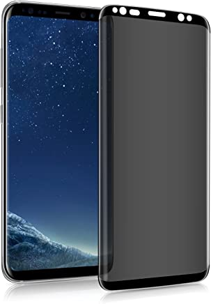 Samsung Galaxy S8 Plus Screen Protector Privacy Temered Glass, [Anti Glare] HD Privacy