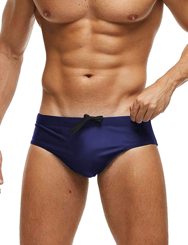 Sale SALE% OFF COOFANDY Men's discount Swim Briefs Sexy Swimsuit w Solid Swimwear Bikini