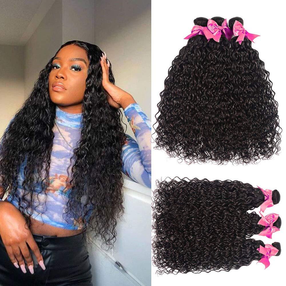 Water Wave Human Hair Dealing full price reduction Bundles Wet Brazilian Weave supreme And Wavy