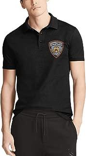 New York City Department of Correction Mens Polo Shirt Stylish Travel Short Sleeve Tees