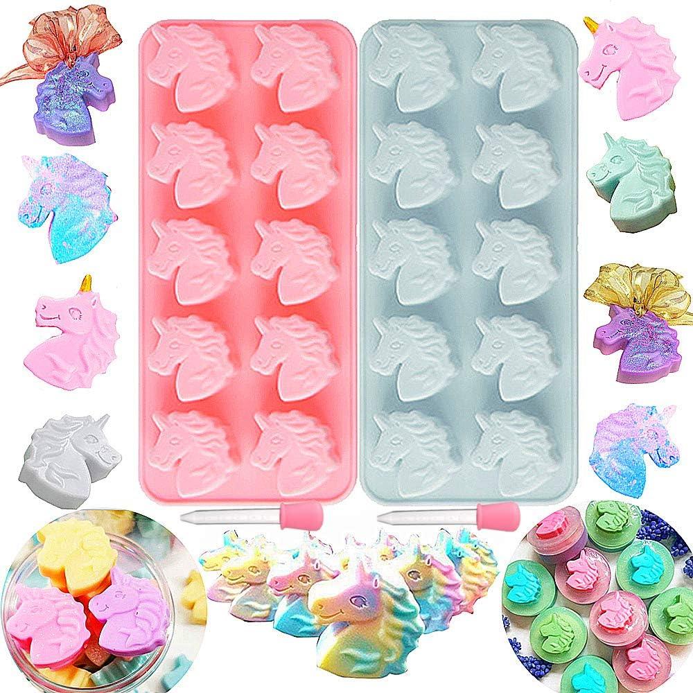 2 PCS Fort Worth Mall JeVenis Unicorn Mold Japan Maker New Oreos Molds Bath Bo Soap