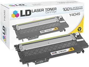 LD Compatible Toner Cartridge Replacement for Samsung Y404S CLT-Y404S (Yellow)