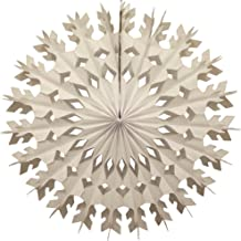 product image for 12-Pack 22 Inch Large Tissue Paper Snowflake (White)