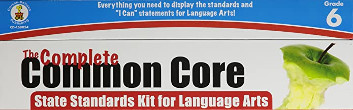Complete Common Core State Standards Kit for Language Arts, Grade 6