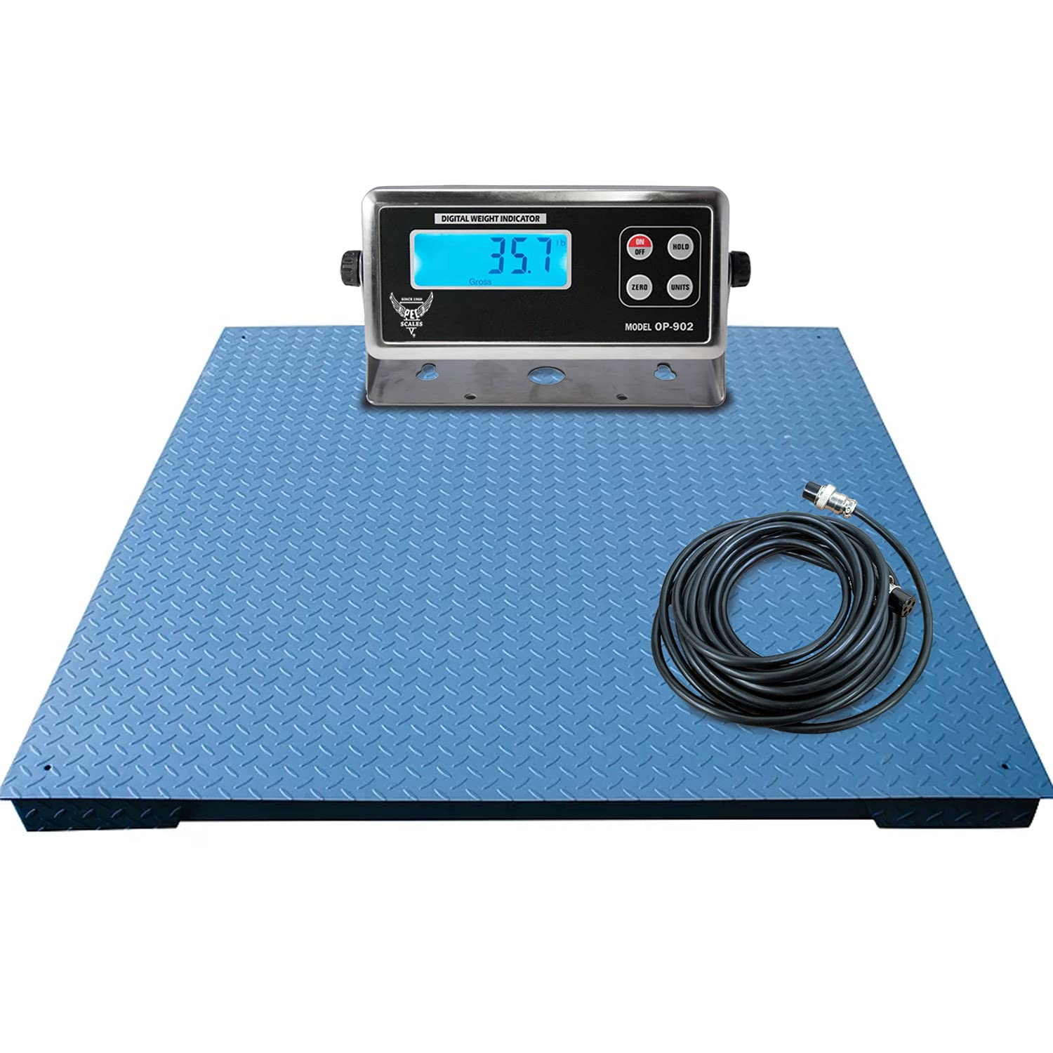 PEC Max 62% OFF Scales Warehouse Heavy Duty Scale wi Floor Industrial Pallet Ranking TOP14
