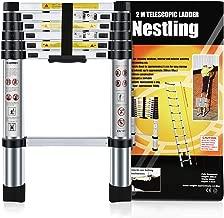 pour usages multiples 13.5FT extensible de charge maximale Jason /Échelle t/élescopique en aluminium de haute qualit/é