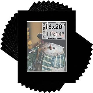 Best 16x20 black mat board Reviews
