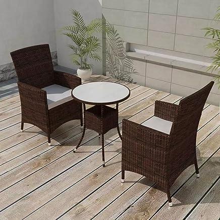 Amazon.es: mesas rusticas de madera - Vidrio / Muebles ...