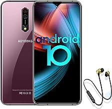 Android 10.0 Smartphone Unlocked, 10 Core 2.3Ghz CPU 6GB/64GB/256GB Dual 5G WiFi & 4G LTE SIM 4500mAh 6.5'' 2k Display, 16...