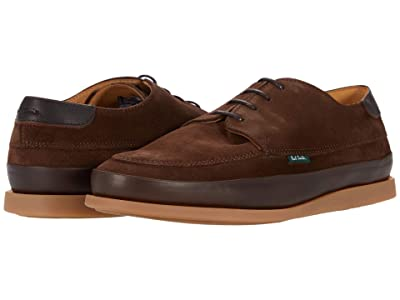 Paul Smith PS Broc Lace-Up Shoe (Chocolate Brown) Men