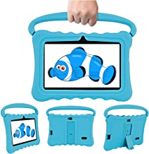 $59 Get Kids Tablets Portable with 7 inch Multi-Touch Screen IPS Display,2GB RAM 32GB ROM, Unlocked Android 6.0 Quad-core Tablet PC, Dual Camera Wi-Fi Bluetooth Edition Tablet (Blue)
