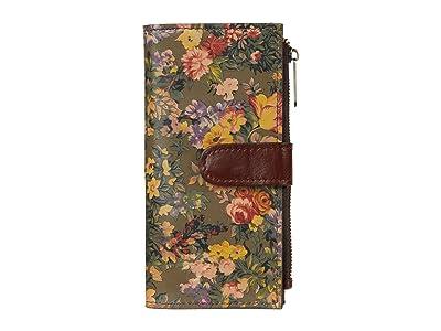 Patricia Nash Nazari Bifold Zip Wallet (English Country) Wallet Handbags