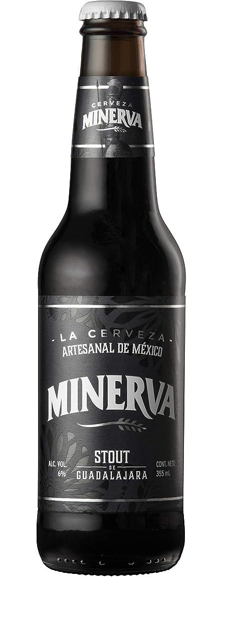 落ち込んでいる報酬の毒液メキシコ産No.1クラフトビール MINERVA STOUT 1ケース24本