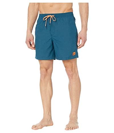 Quiksilver Everyday Volley 17 Boardshorts (Majolica Blue Heather) Men